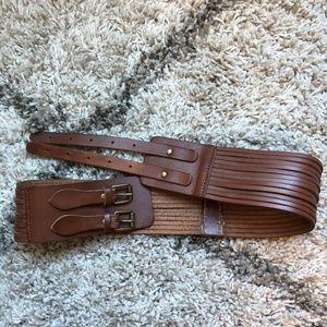J. Crew woman's double buckle belt - Size S